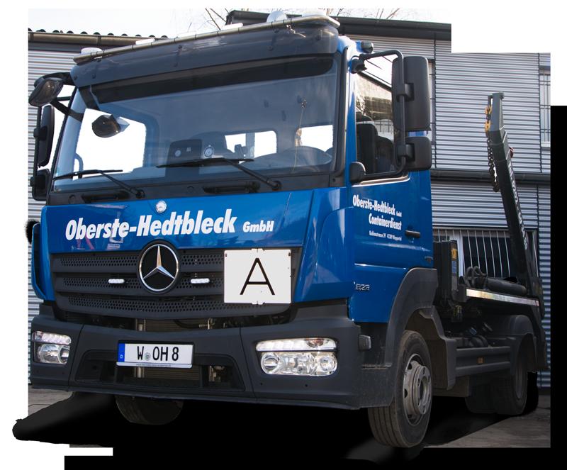 Lkw Containerdienst Oberste Hedtbleck Mercedis