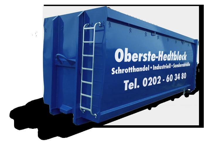 Rollcontainer Entsorgung